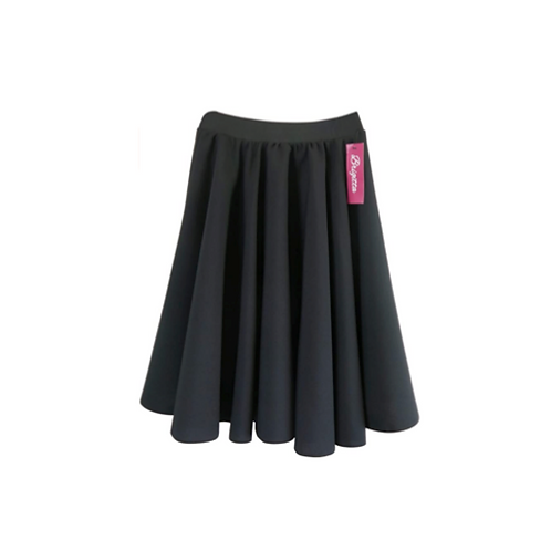 Black Circular Rehearsal Skirt
