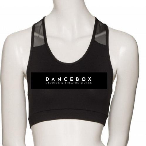 Dancebox Black Crop Top