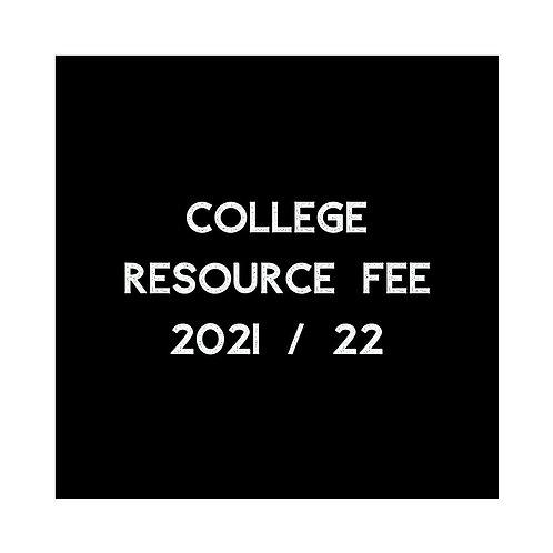 Dancebox College Resource Fee