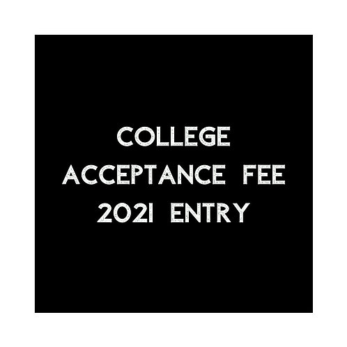Dancebox College Acceptance Fee