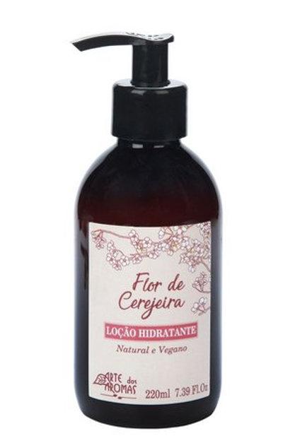 Loção Hidratante Flor de Cerejeira 220ml - Arte dos Aromas