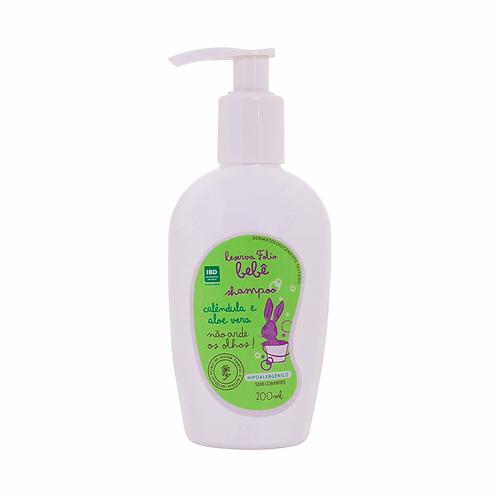 Shampoo Natural de Calêndula e Aloe Vera para Bebê 200ml – Reserva Folio