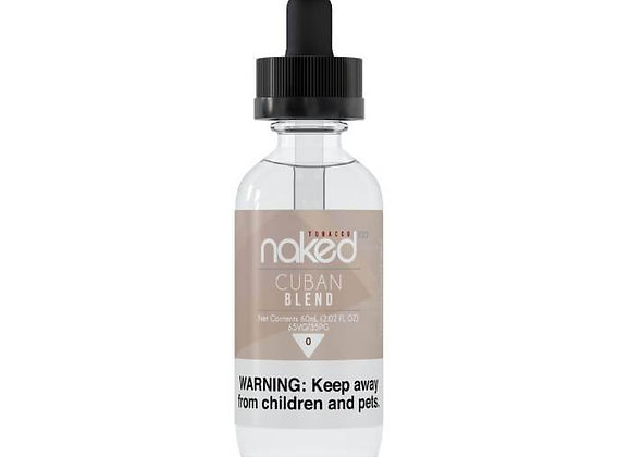 Naked 100 - Cuban Blend - ejuice