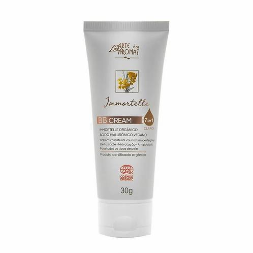 BB Cream Orgânico 7 em 1 Immortelle com Ácido Hialurônico Claro 30g