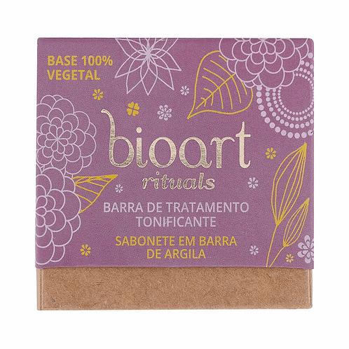 Barra de Tratamento Natural Tonificante de Argila Roxa e Lavanda 100g - Bioart