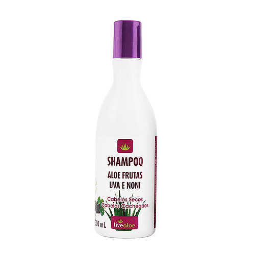 Shampoo Aloe Frutas 300 ml - Livealoe