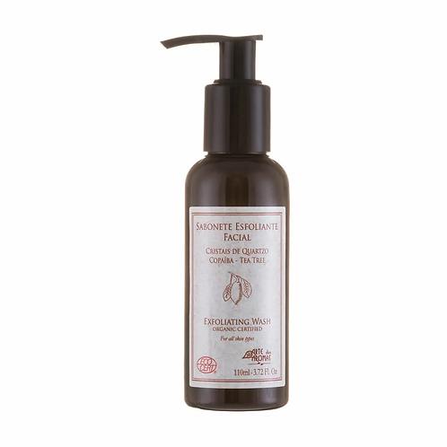 Sabonete Líquido Orgânico Esfoliante Copaíba e Tea Tree 110ml - Arte dos Aromas