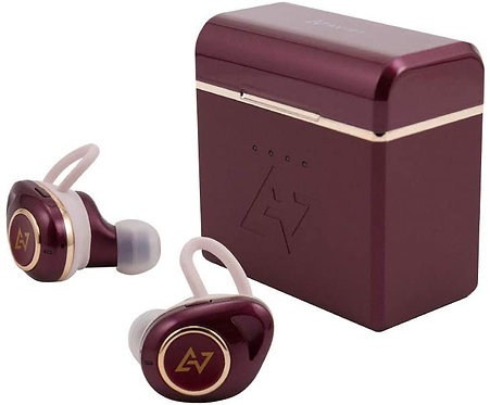 AVIOT TE-D01d mk2 True Wireless Earphones - Dark Rouge