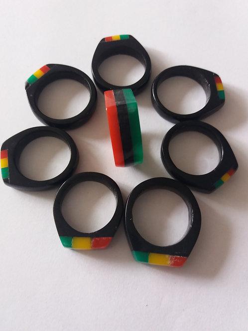 Handmade Rastafari Rings