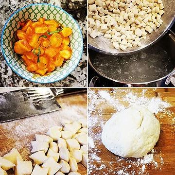 Nothing like homemade gnocchi with fresh