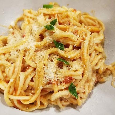 From Grandpa's farm to table spaghetti m