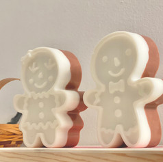 Little Miss and Mr Gingerbread Shea Butter Soap