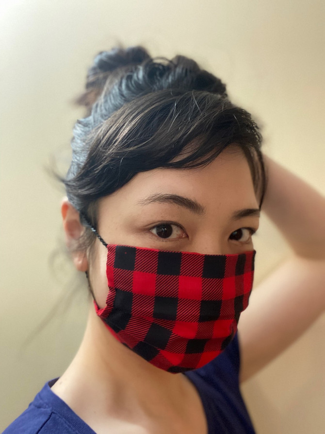 #stayhome DIY cotton mask