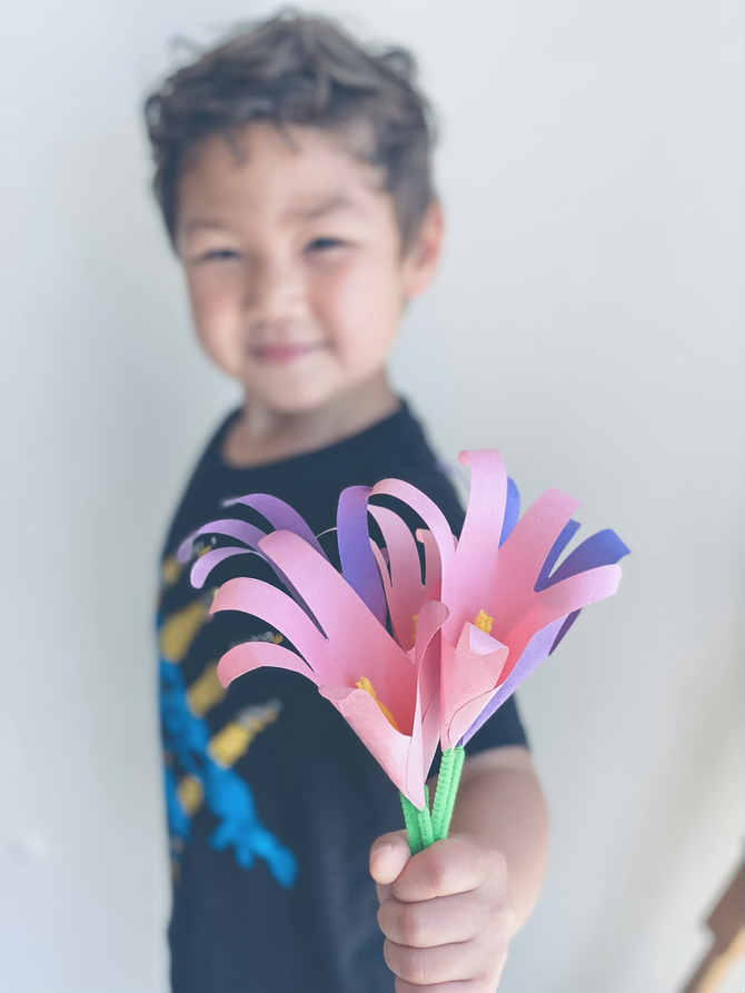 Handprint Lilies