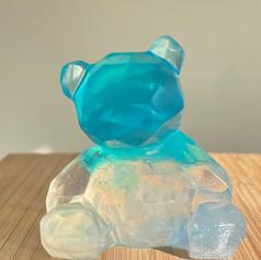 Blue Bear Gem Soap