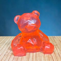 Red Bear Gem Soap