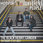 Different People, Live Music, Rock, Indie, alternative, Backwater channel Records, Indendent Record Label, Independent music, The Roadtrip & Workshop, The Roadtrip, The Workshop, OldStreet, London, UK, Leontas, the Hallows, Moonland