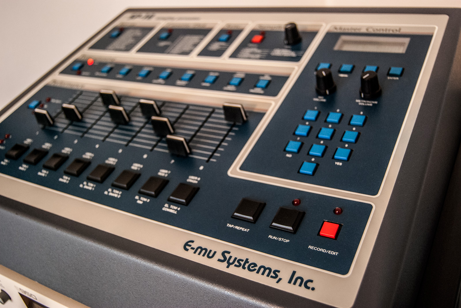 Emu SP12 sampling drum machine
