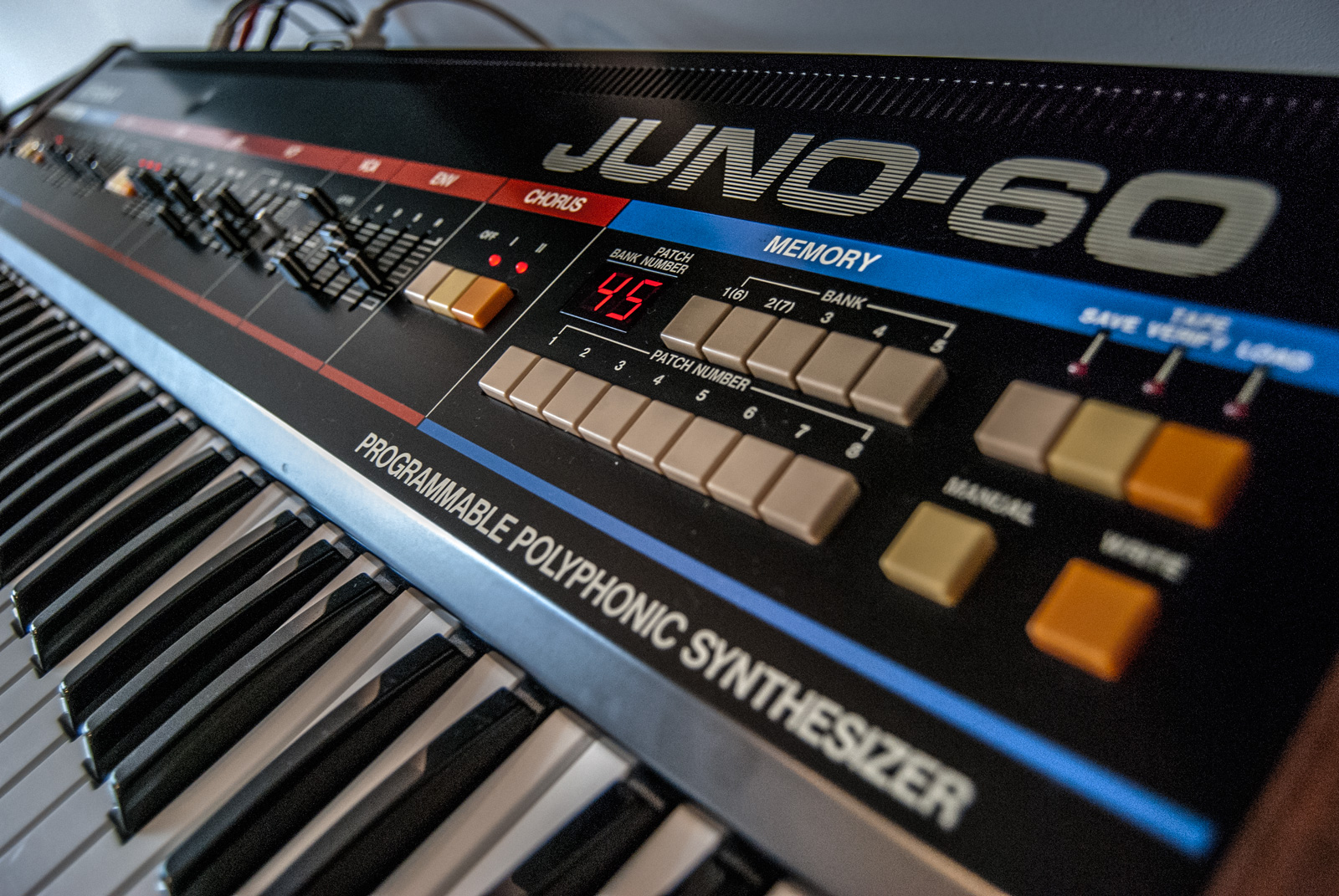 Roland Juno 60 analog synth