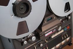8-track analog tape machine