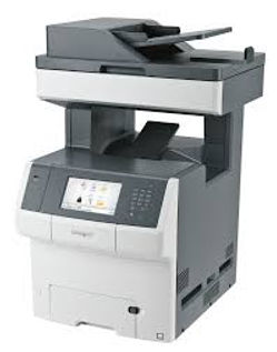 Lexmark XS748de colour A4 printer