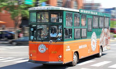 Nashville's Hop On Hop Off Trolley