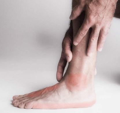 Douleur chevillet et pied
