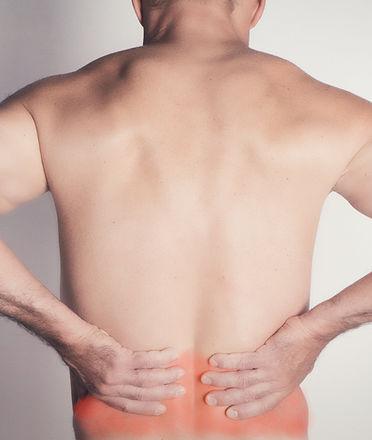 Image illustrant une douleur au bas du dos.