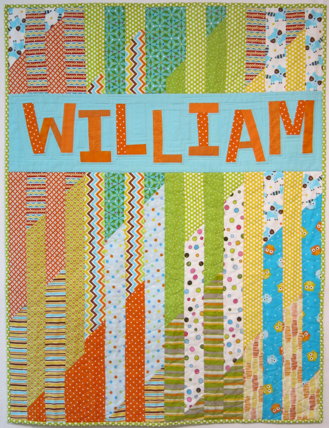 Baby Quilt for William