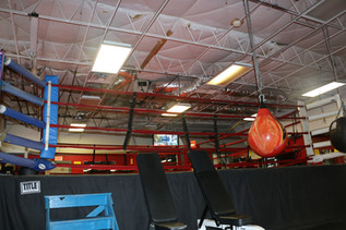 Full Size Competition Boxing Ring