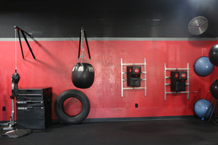 Double End, Wrecking, Wall Mounted Bags and Equipment