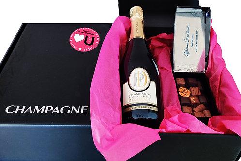 La Love Box : Champagne & Chocolats