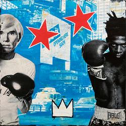 Warhol+Basquiat blue