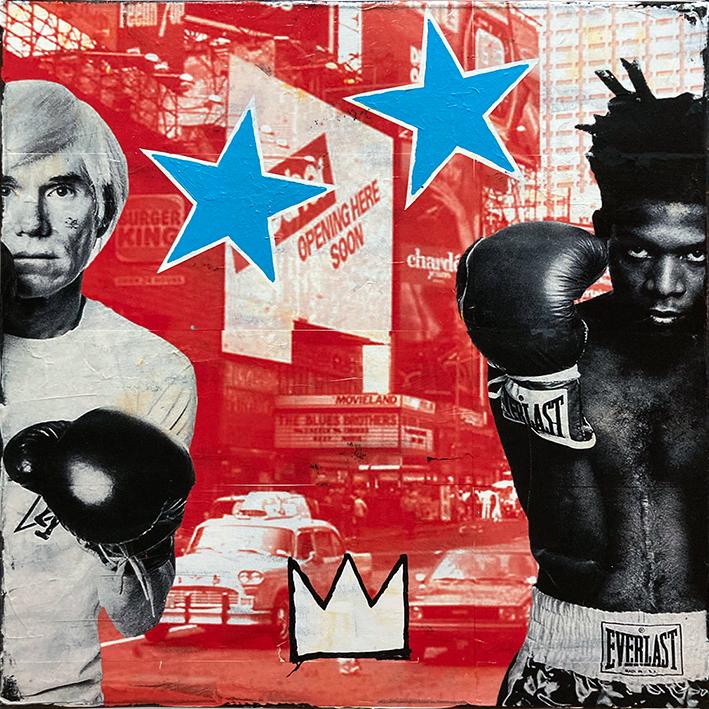 Warhol+Basquiat red