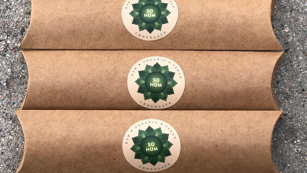 3 Pillow Boxes of Organic Vegan Chocolate (original)