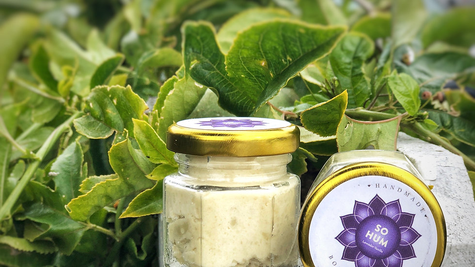 Handmade Lavender Vanilla Body Butter 1.5oz