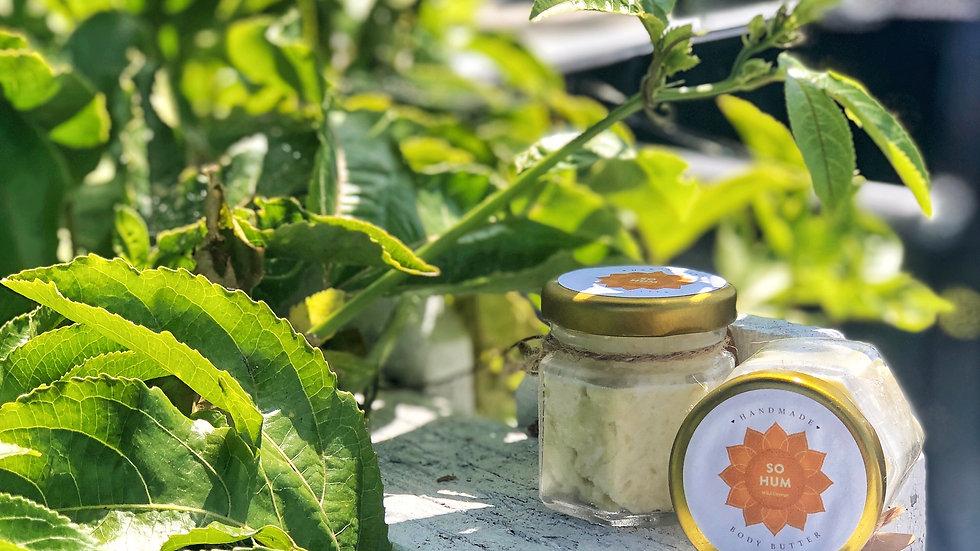 Handmade Wild Orange Body Butter 1.5oz