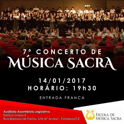 DVD 7º Concerto de Música Sacra | Louvor em Harmonia 7
