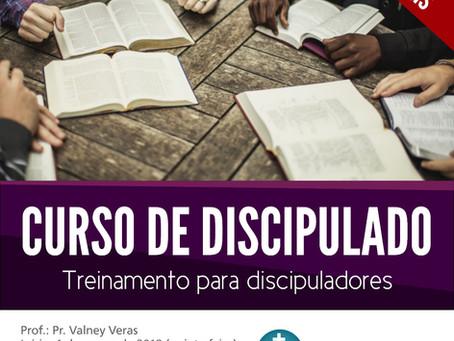 Curso de Discipulado - com Pr. Valney Veras