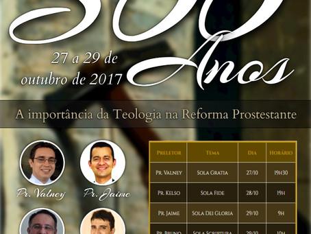 Conferência 500 Anos da Reforma Protestante