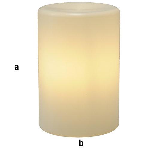 Peana plástico diámetro 40x60 con luz