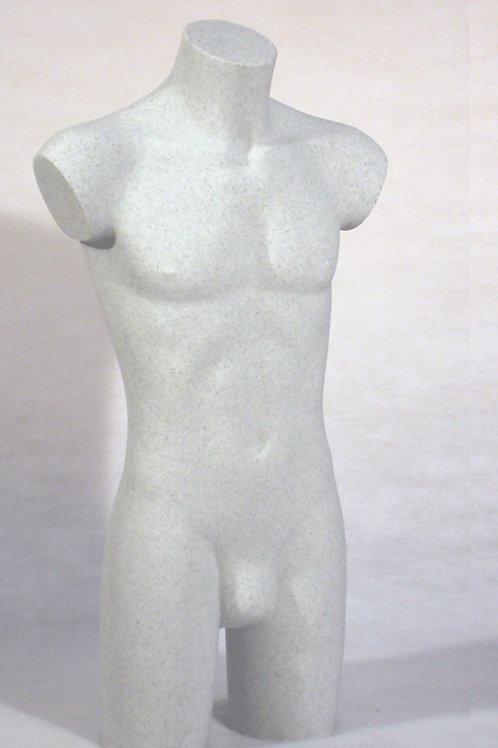 Busto plástico caballero