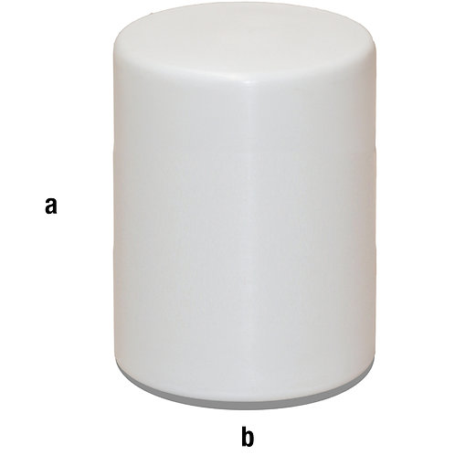 Peana plástico diámetro 40x60