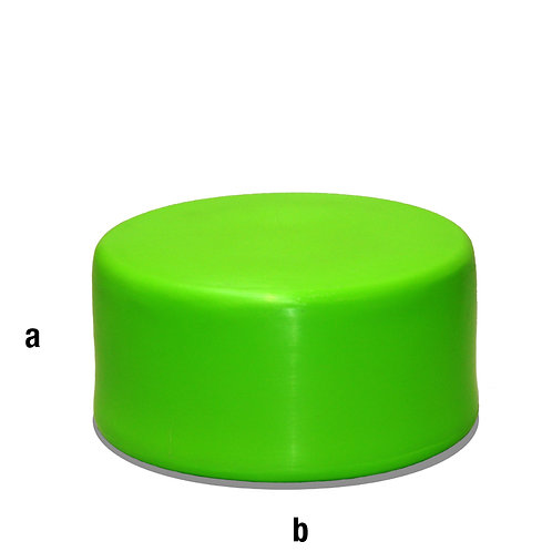 Peana plástico diámetro 40x20