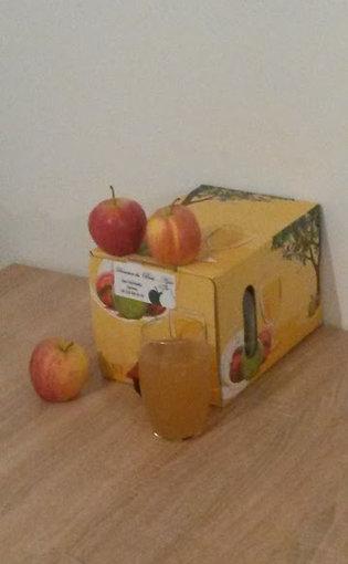 """Jus de pomme """"Domaine du Bois-noir"""" 5lt."""