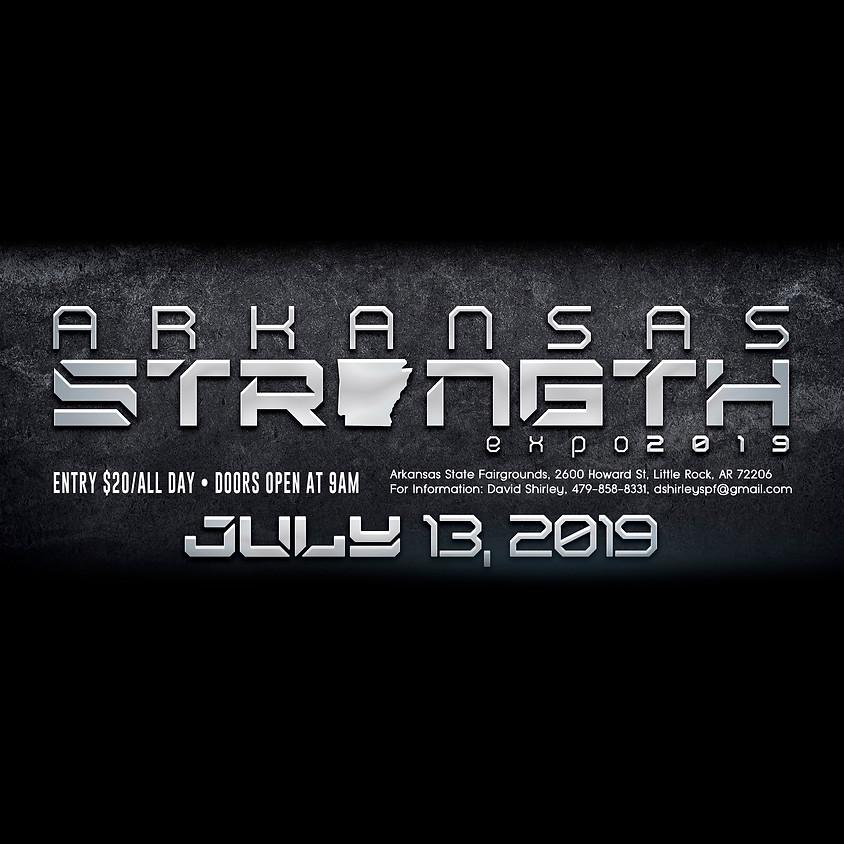 Strongest In Arkansas at the Arkansas Strength Expo