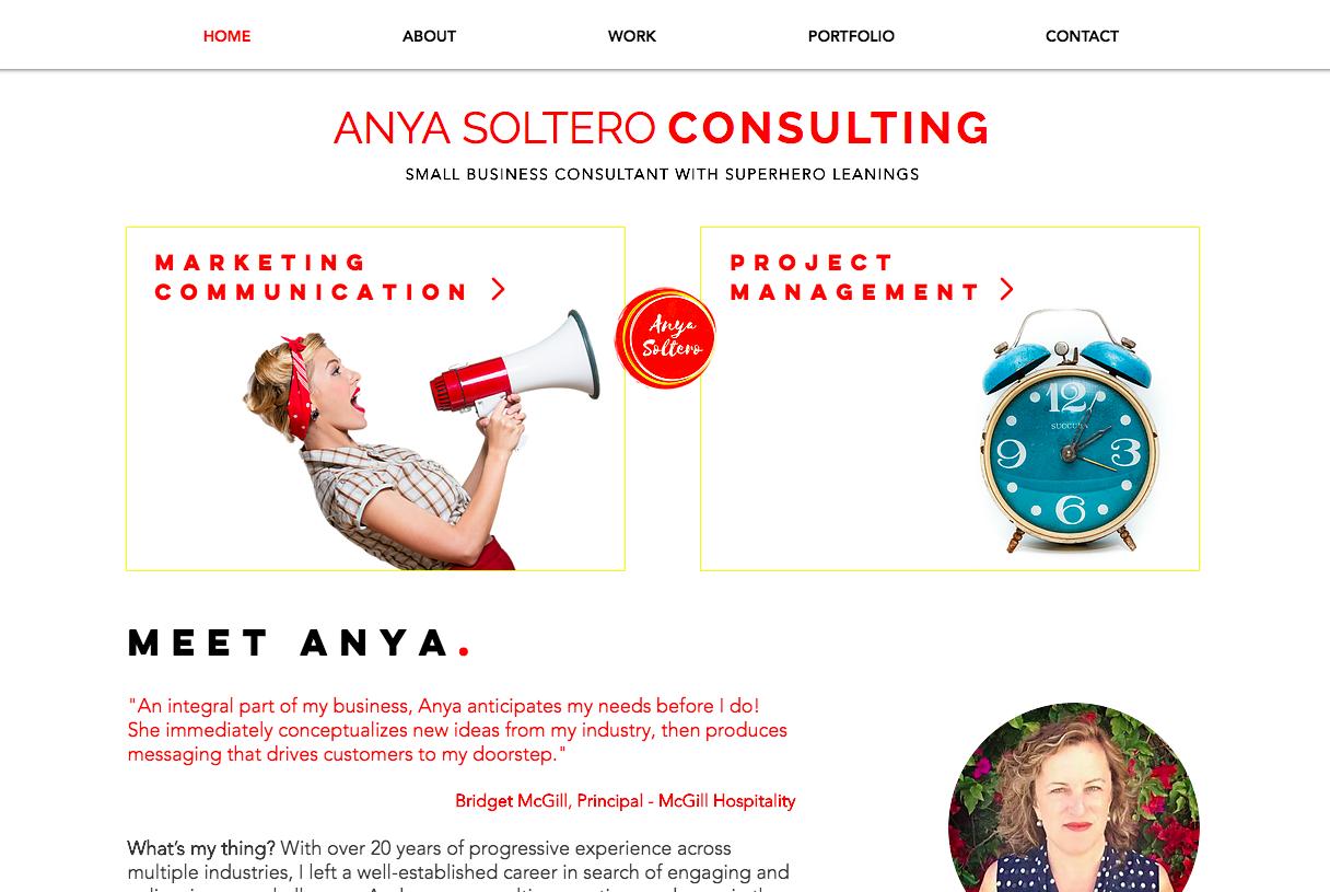 Anya Soltero Consulting
