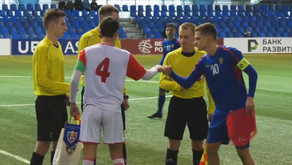 Moldova U17, înfrângere la Minsk