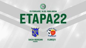 Live. Dacia Buiucani - FC Florești. Avancronică