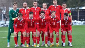 Naționala U21, victorie în amicalul cu Sfîntul Gheorghe